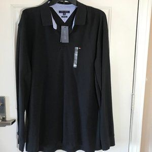 NWT Tommy Hilfiger Classic Fit Polo Black